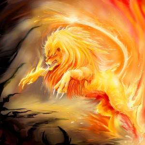 Fire_Lion_by_Daelyth